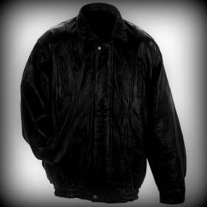 Leather jacket care